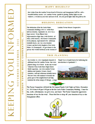 Dec 2015 Newsletter