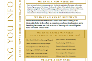 April 2014 Newsletter